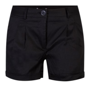 Capture-Black Shorts