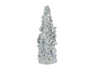 18008834 xmas tree silver wstars